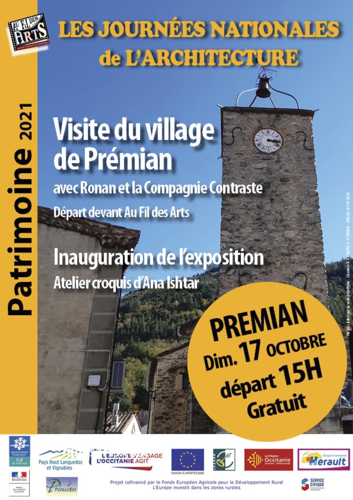 Balade à Prémian, dimanche 17 octobre